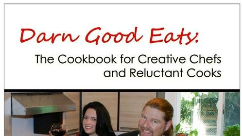 My cookbook, Darn Good Eats!
