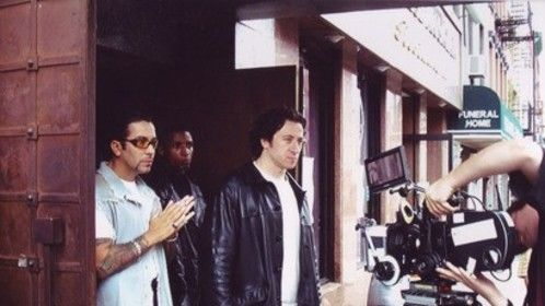 "On set of Film ""La Arana"" with Federico Castelluccio & David Zayas."