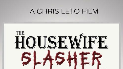 Jennifer Lander design Movie Poster for The Housewife Slasher by Reaper Films.