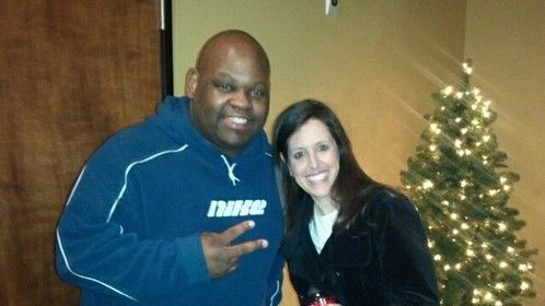 Me and comic legend Wendy Liebman
