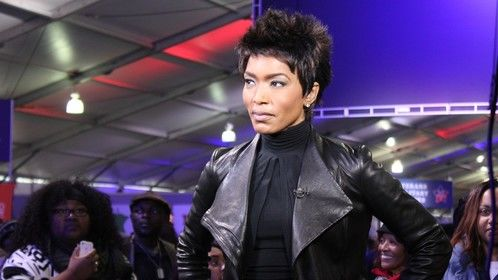 Actress Angela Bassett with us for Inauguration 2013