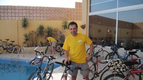 Bikes in Jordan, 2009