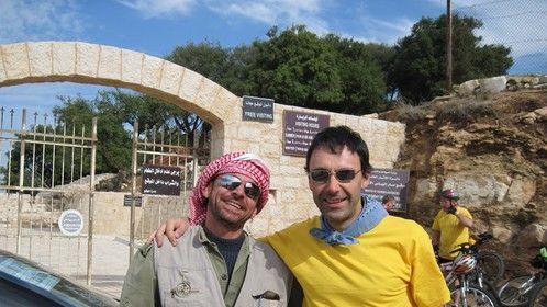 Luay, our fixer. Mar Elias, Jordan, 2009