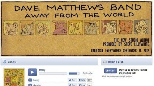 Dave Matthews Band Screenshot