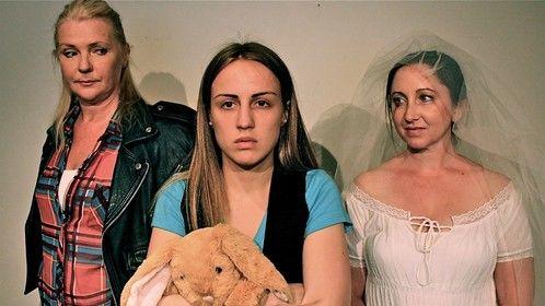 The cast of Wait Time: Aileen Beale, Belinda Anderson-Hunt and Elizabeth McLean