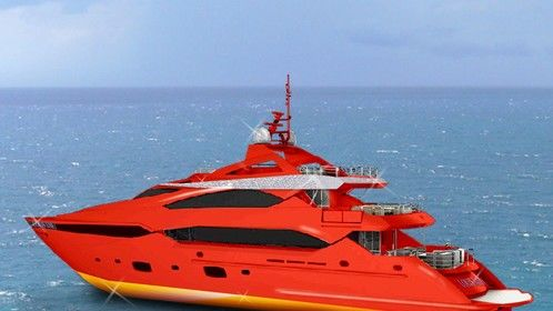 New Super Yacht design for Casino Owner