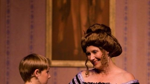 Mags and Gareth in Peter Pan