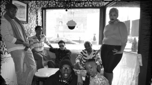 """Cast of """"IN THE CIRCLE: THE DREAMS OF NEWARK"""" reality show"""