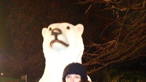 Me at Winter wonderland  London 2012
