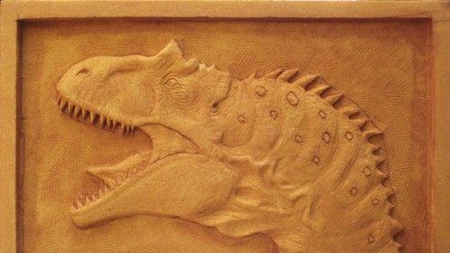Foam carving