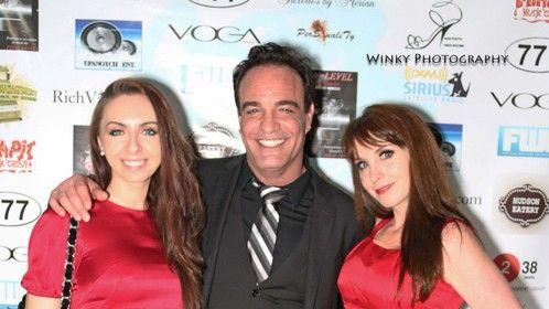 With Larry Ravioli Co-Stars