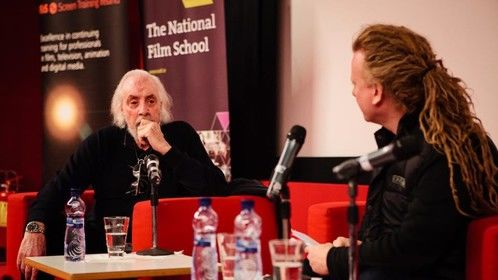 In conversation with Robert Towne at Jameson Dublin International Film Festival.
