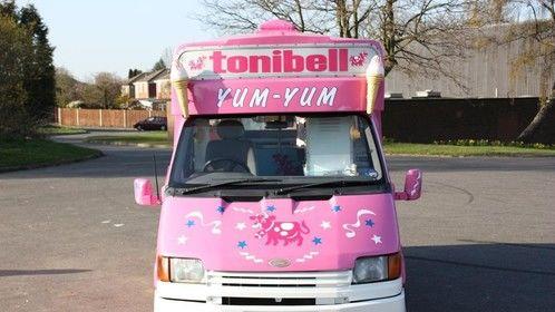 hire a classic soft ice cream van Kent London Surrey Essex