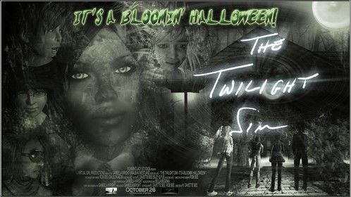 "Movie poster from Running Lady Studios' ""It's A Bloomin' Halloween!"", released Oct. 2012"
