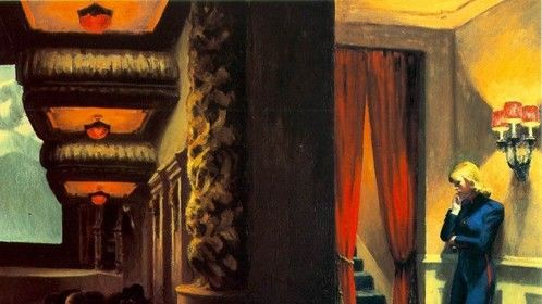 One of my primary sources of inspiration - Edward Hopper's New York Movie