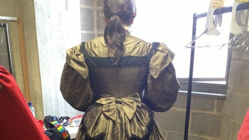 Victorian bodice and skirt