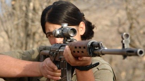 Kurdish women fighting for women right in Middle East