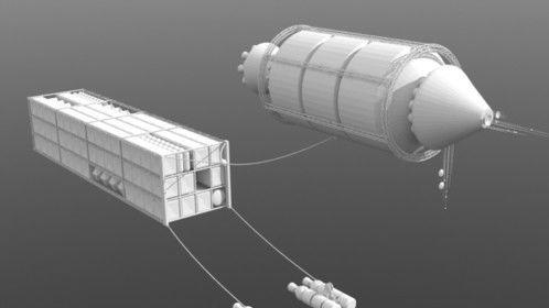 Exodus Fleet Ship Concept