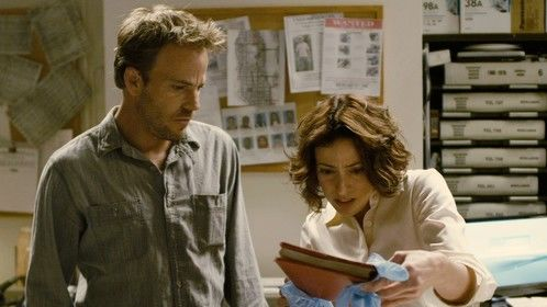 Stephen Dorff and Bree Michael Warner in OFFICER DOWN