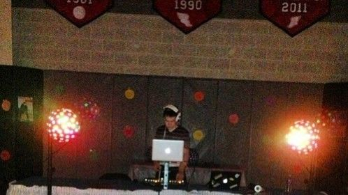 DJ MFC performs at Hickory High School Sadie Hawkins Dance