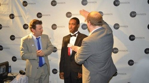 Hosting The Red Carpet from The Jeff Awards