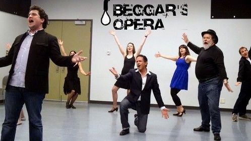 "... first full run of ""A Beggar's Opera"", opening April 18 Performance Works"