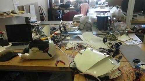 Cyborg Production-laser cut acrylic