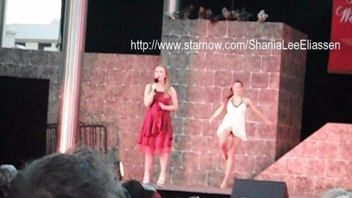 Shania singing City of Perth Christmas Nativity concert