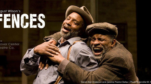 Photographed for Denver Center Theatre Company's production of FENCES | David Alan Anderson and Jerome Preston Bates