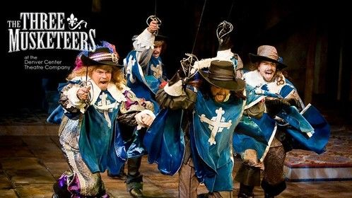 Photographed for Denver Center Theatre Company's 2012 production of THREE MUSKETEERS | Mike Ryan, Ben Rosenbaum, Jamison Jones & Martin Yurek