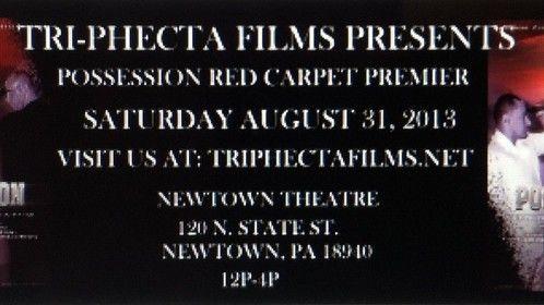 FILM PREMIERE ---- POSSESSION!!!!