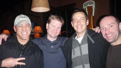 Mark Eddie, Doug Saulnier, Bill Crawford, and Shaun O'Donnell