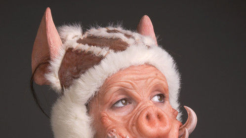 Pig Man, Silicone Appliance
