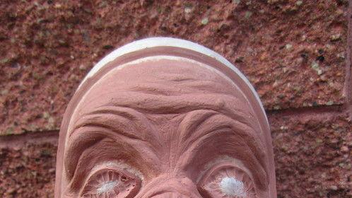 Pig Man Sculpture