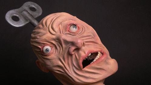 Twisted Head, Foam Latex and Fiberglass Animatronic Puppet