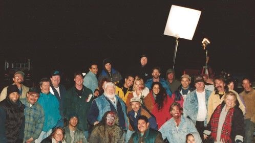 Cast and Crew for my short film AN EARLY GRAVE