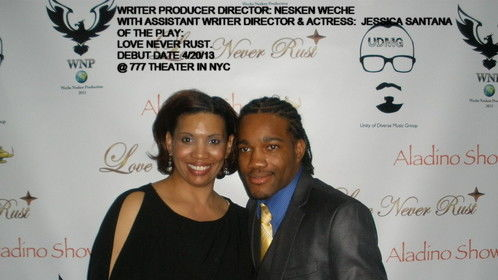 WRITER/PRODUCER/DIRECTOR: NESKEN WECHE W ASST WRITER/DIRECTOR & ACTRESS: JESSICA SANTANA