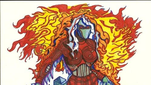 This is Solstice, My Cryro/Pyro-Kinetic.