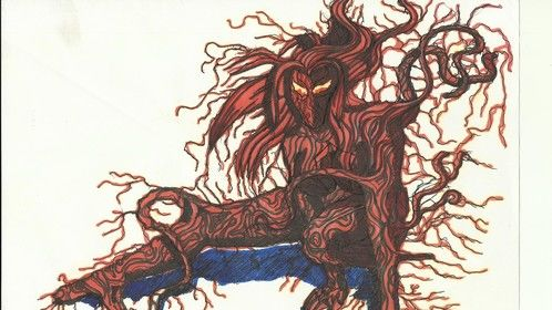 This is the Entity, my Carnage-esque character.