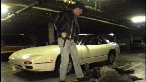 Me as Jack Dalton taking out a bad guy.