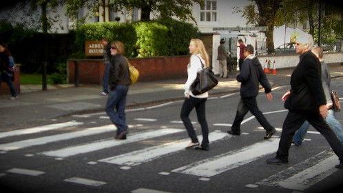 Daily walk to Abbey Road LOL