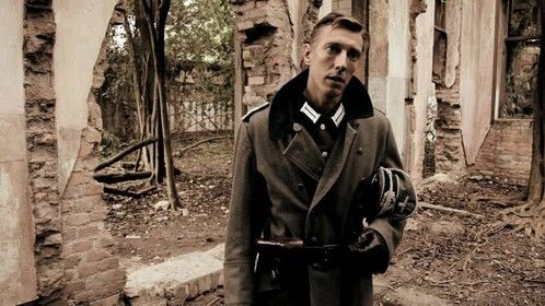 Feature film Homens da Patria directed by Gastao Coimbra