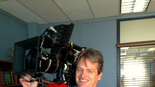 On the set of the hot TV series Continuum with a RED Epic, Panavision Primo 60-125 and a sore back