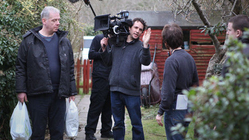Filming on 'An Ordinary Life'