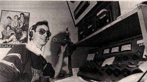 Back in my DJ radio days .