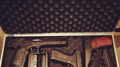Desert Eagle, Beretta, Glock, PPK