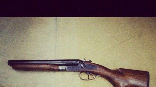 Sawn off Shotgun a British Gangster favourite