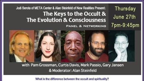The Keys to the Occult, and The Evolution of Consciousness