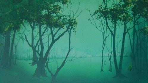 murky forest backdrop