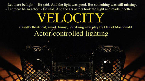 VELOCITY: actor controlled lighting